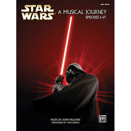 Alfred Star Wars - A Musical Journey (Music from Episodes I-VI) Big Note Piano Book thumbnail