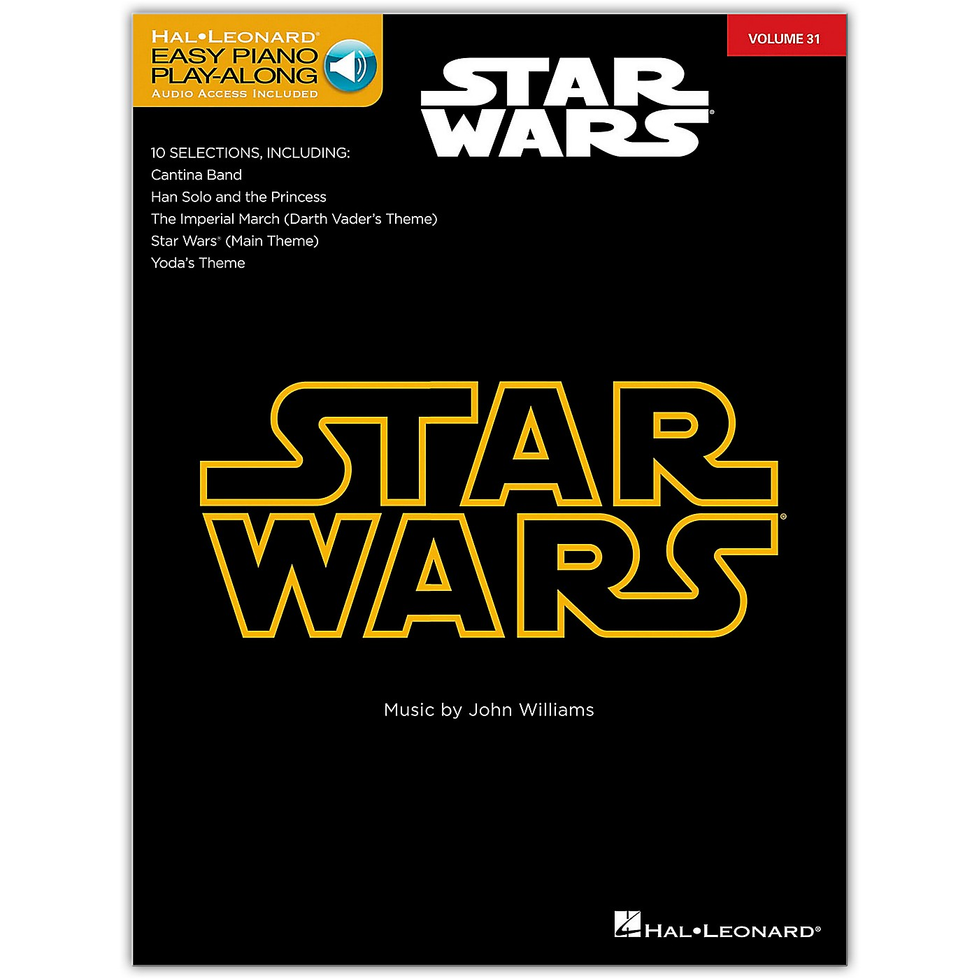 Hal Leonard Star Wars - Easy Piano Play-Along Volume 31 Book/Online Audio thumbnail