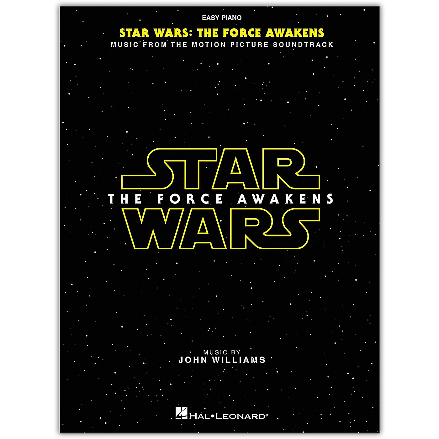 Hal Leonard Star Wars: Episode VII - The Force Awakens for Easy Piano thumbnail