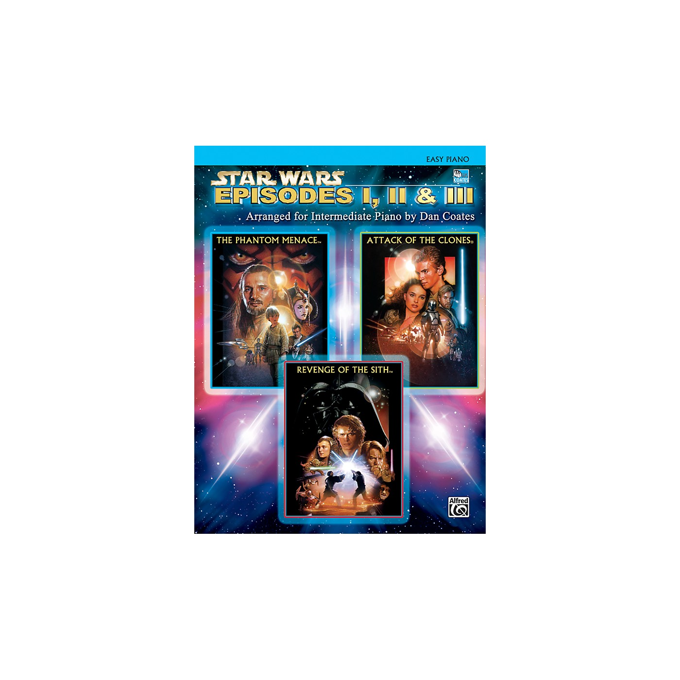 Alfred Star Wars: Episodes I, II & III Easy Piano Songbook thumbnail