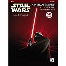 Alfred Star Wars Flute Instrumental Solos (Movies I-VI) Book & CD