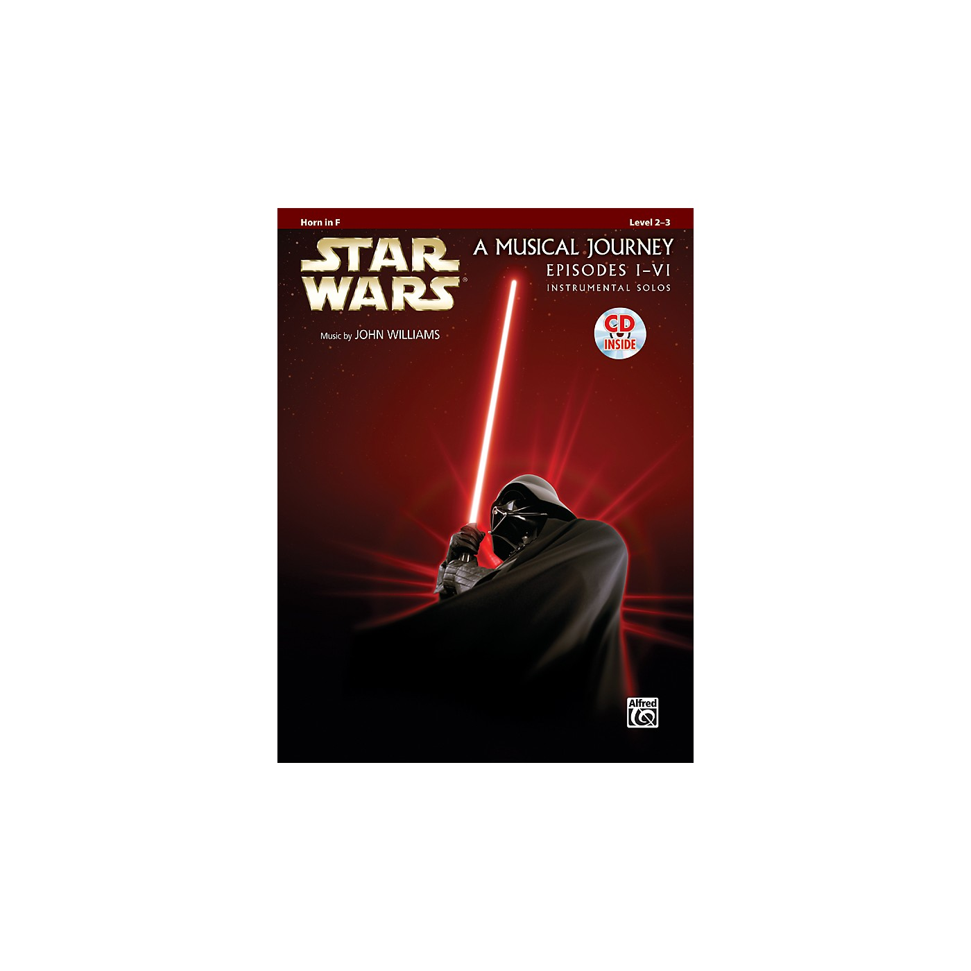 Alfred Star Wars Instrumental Solos (Movies I-VI) Horn in F Book & CD thumbnail