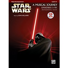 Alfred Star Wars Instrumental Solos (Movies I-VI) Piano Accom. Book & CD