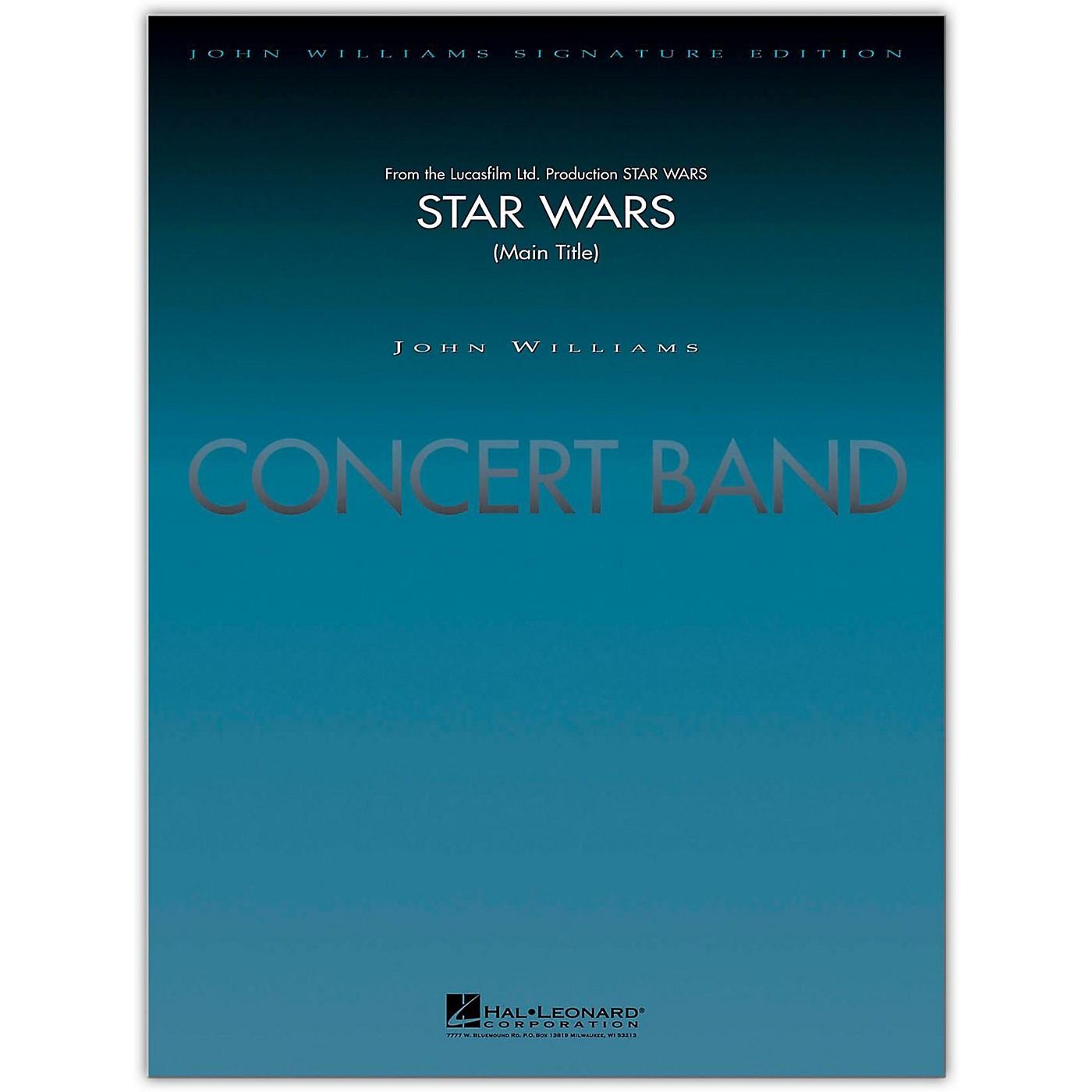 Hal Leonard Star Wars (Main Title) Concert Band Level 5-6 arranged by Stephen Bulla thumbnail