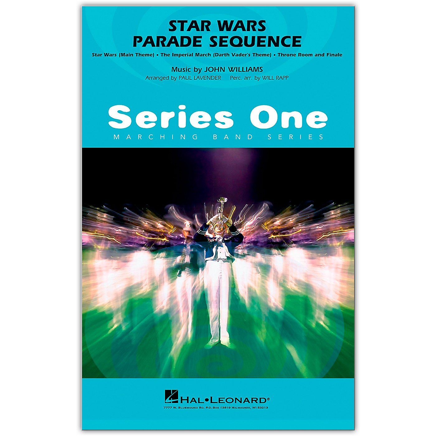 Hal Leonard Star Wars Parade Sequence Marching Band Level 2 Arranged by Paul Lavender thumbnail