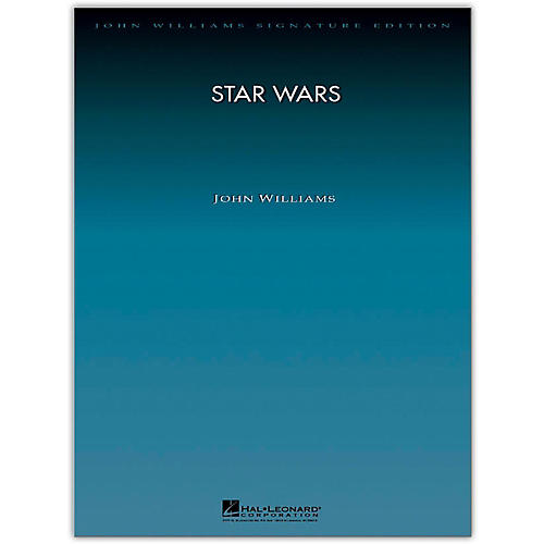 Hal Leonard Star Wars Suite for Orchestra - John Williams Signature Edition Orchestra Deluxe Score thumbnail