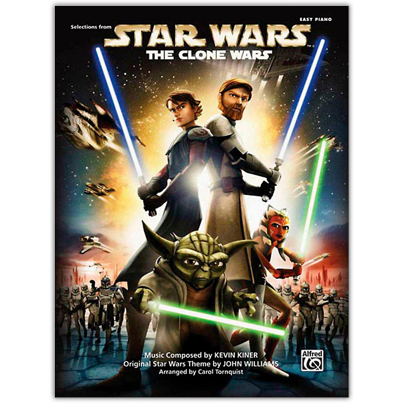 Alfred Star Wars: The Clone Wars Easy Piano Songbook thumbnail