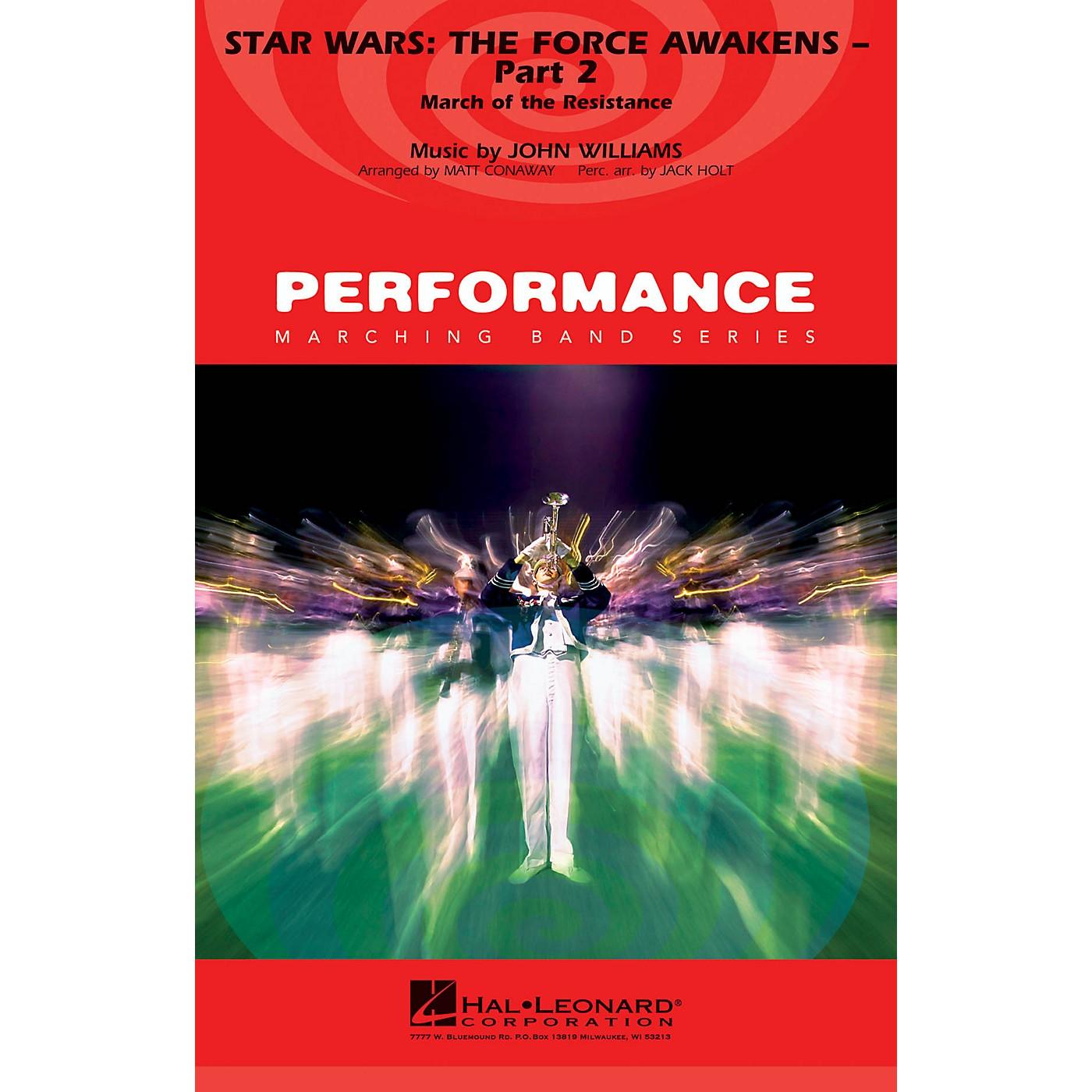 Hal Leonard Star Wars: The Force Awakens - Part 2 Marching Band Level 4 Arranged by Matt Conaway thumbnail