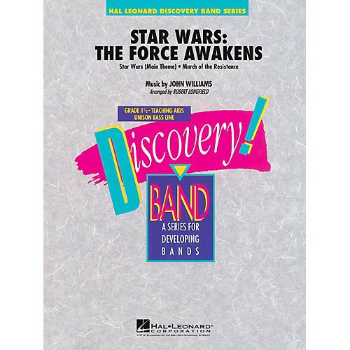 Hal Leonard Star Wars: The Force Awakens Full Score Concert Band thumbnail