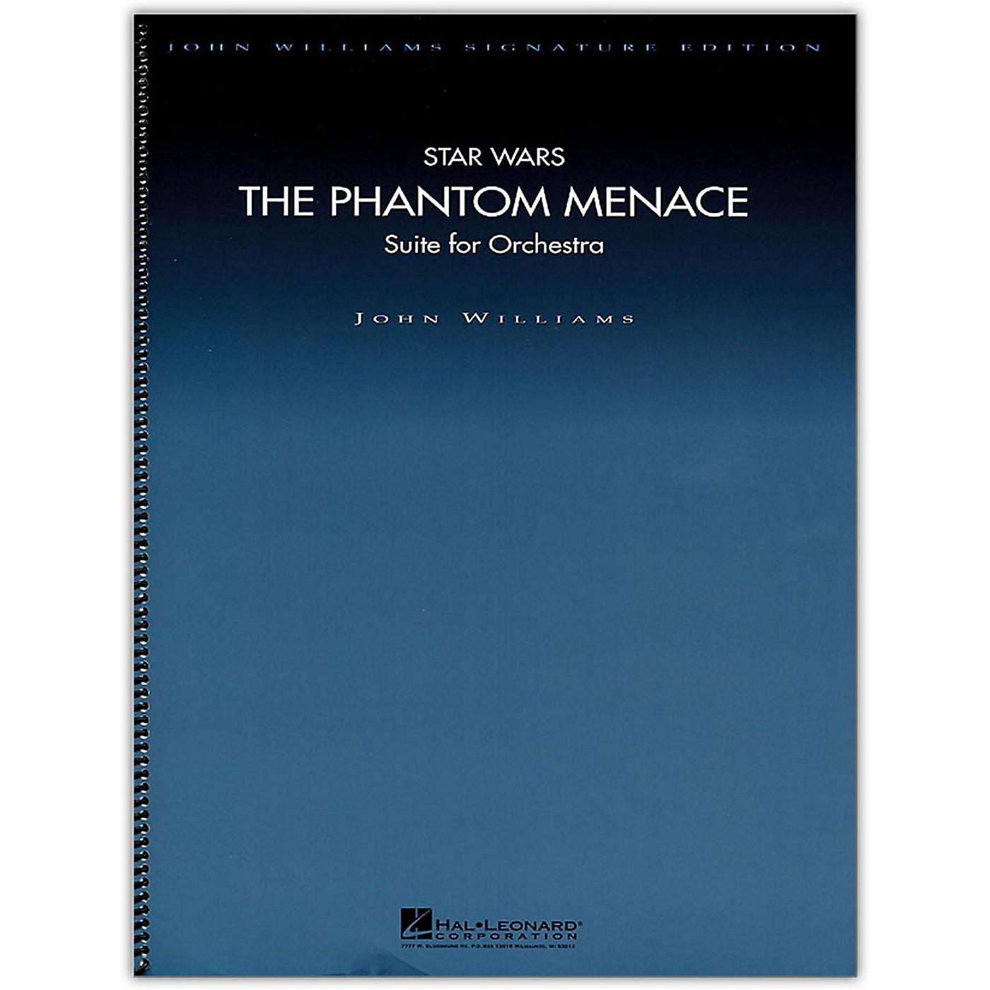 Hal Leonard Star Wars: The Phantom Menace - John Williams Signature Edition Orchestra Deluxe Score thumbnail