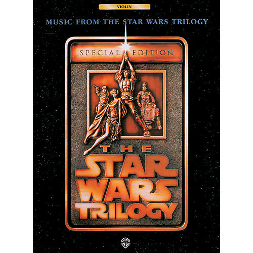 Alfred Star Wars Trilogy for Violin Book thumbnail