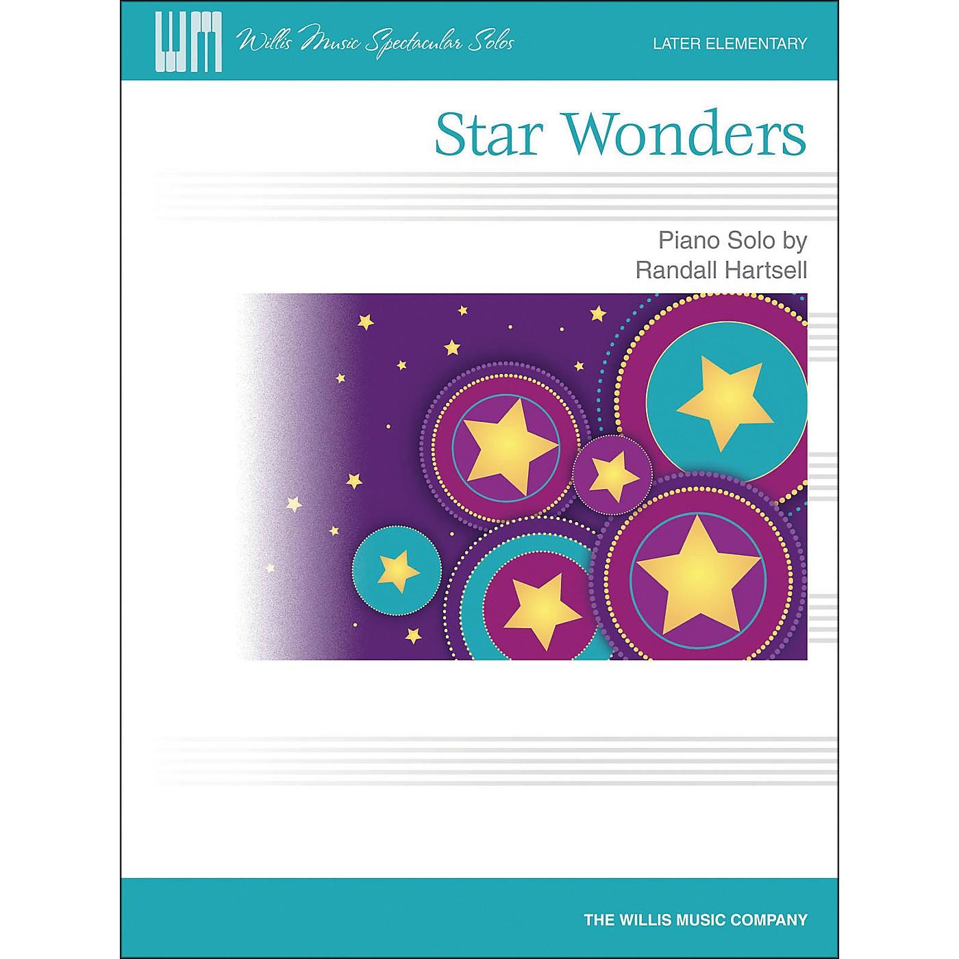 Willis Music Star Wonders - Later Elementary Piano Solo by Randall Hartsell thumbnail
