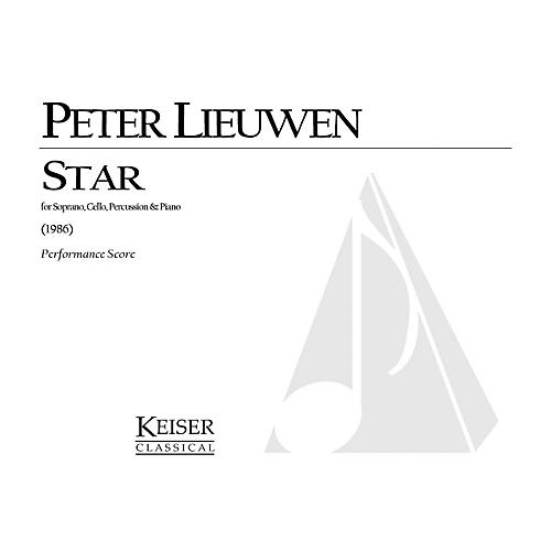 Lauren Keiser Music Publishing Star (for Soprano, Cello, Piano and Percussion) LKM Music Series Composed by Peter Lieuwen thumbnail