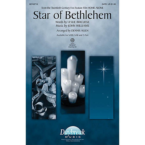 Daybreak Music Star of Bethlehem SAB Arranged by Dennis Allen thumbnail