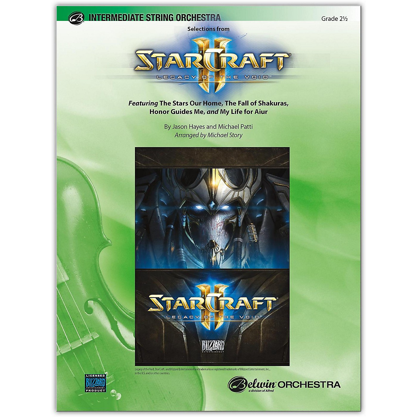 BELWIN StarCraft II: Legacy of the Void, Selections from 2.5 thumbnail