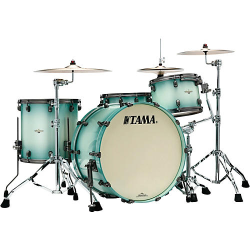 TAMA Starclassic Maple 3-Piece Shell Pack with Smoked Black Nickel Hardware and 24 in. Bass Drum thumbnail