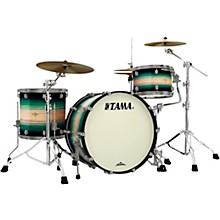 """Tama Starclassic Maple Exotix Pacific Walnut 3-Piece Shell Pack with 24"""" Bass Drum"""