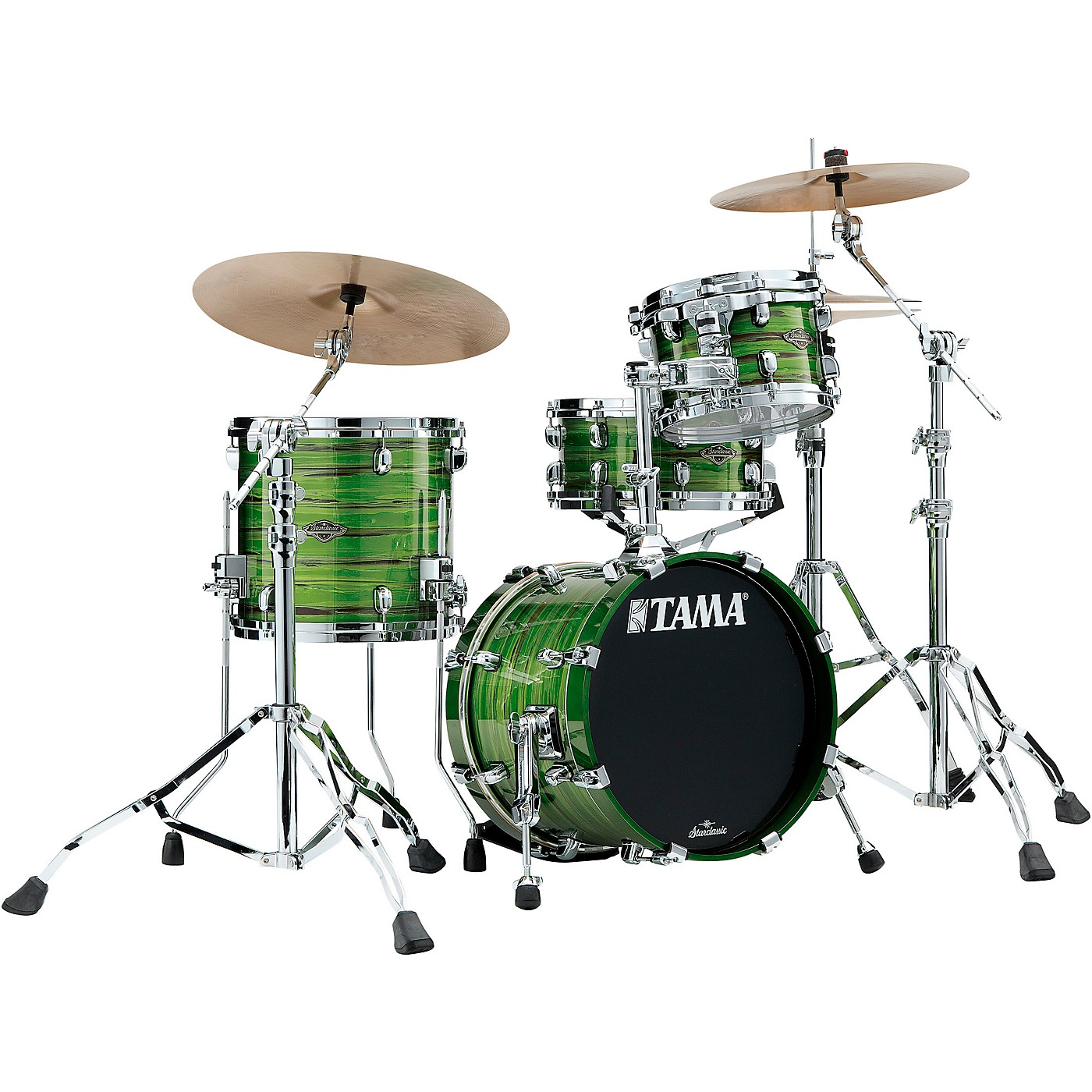 TAMA Starclassic Walnut/Birch 3-Piece Shell Pack with 16 in. Bass Drum thumbnail