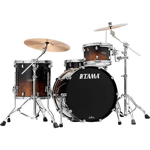 TAMA Starclassic Walnut/Birch 3-piece shell pack with 22