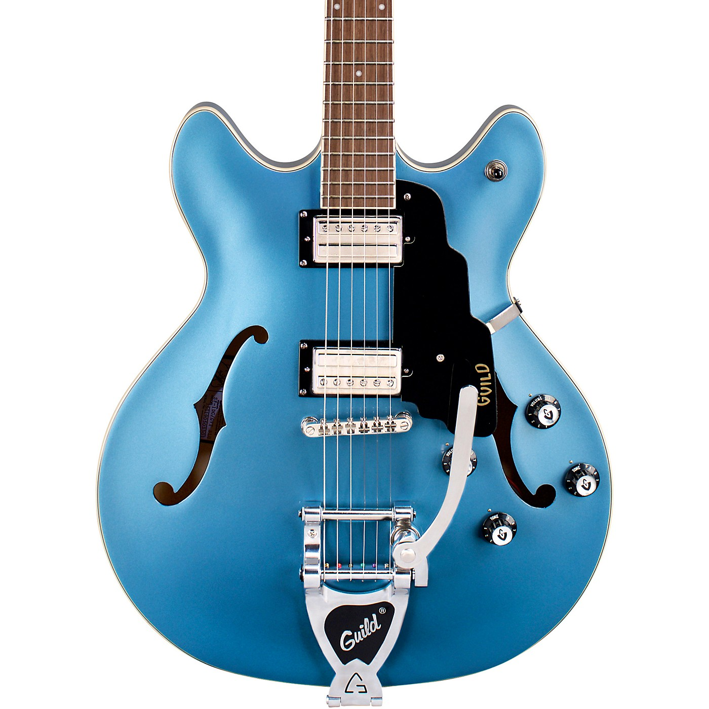 Guild Starfire I DC with Guild Vibrato Tailpiece Semi-Hollow Electric Guitar thumbnail