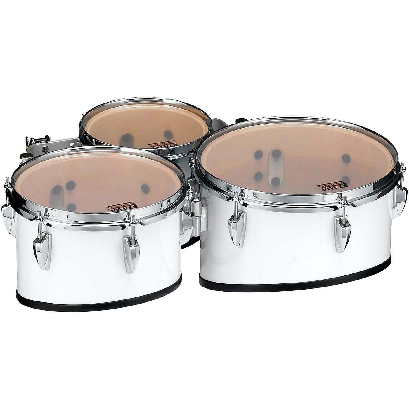 Tama Marching Starlight Marching Tenor Drums Trio with Carrier thumbnail