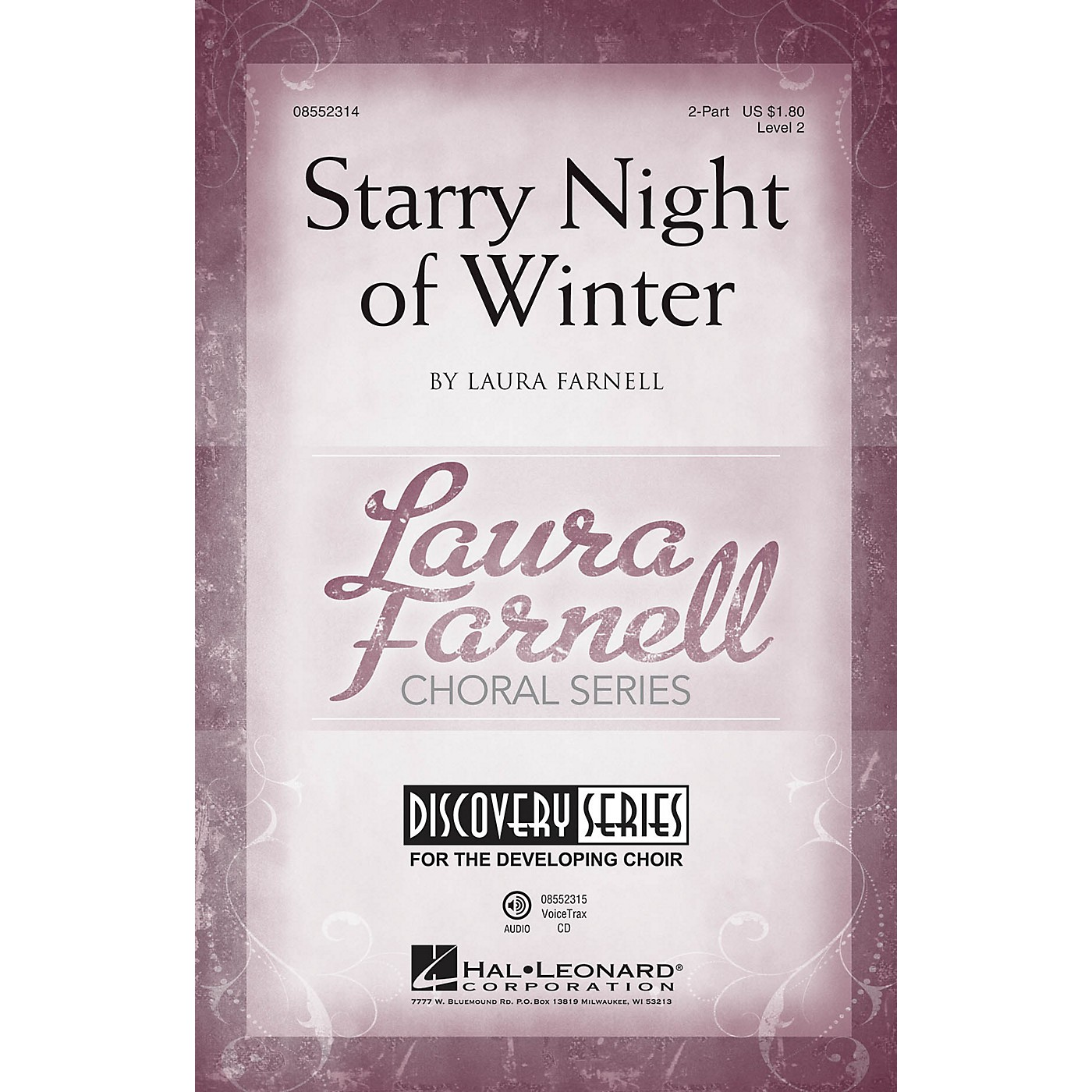 Hal Leonard Starry Night of Winter (Discovery Level 2) 2-Part composed by Laura Farnell thumbnail