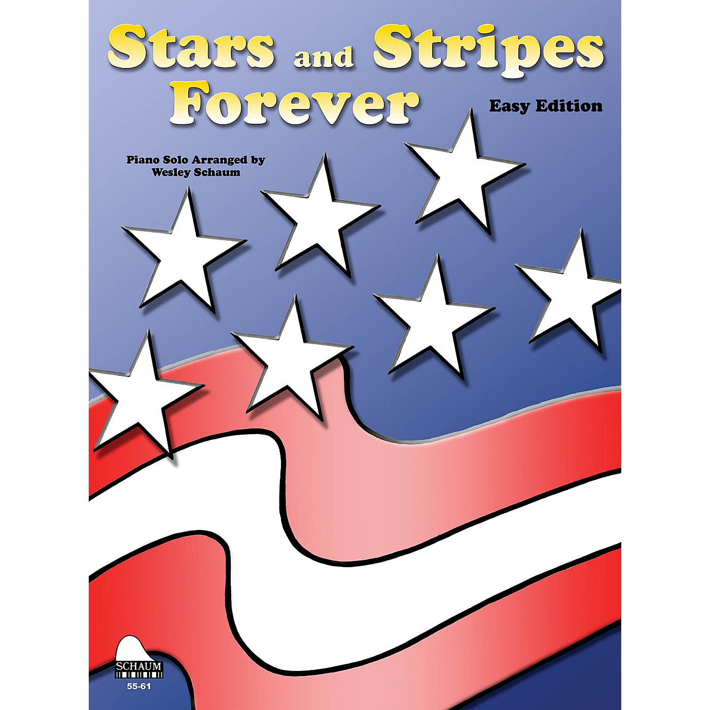 SCHAUM Stars And Stripes Forever (easy) Educational Piano Series Softcover thumbnail