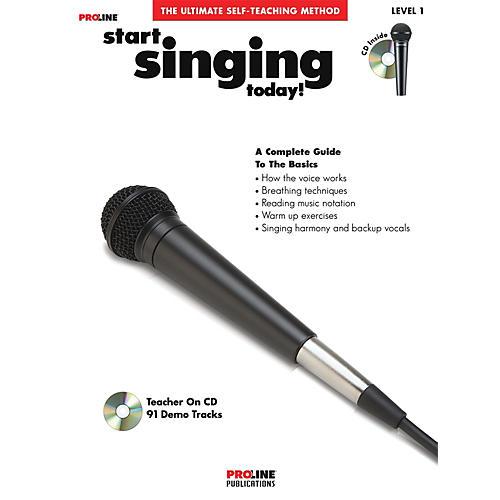 Proline Start Singing Today Book/CD thumbnail
