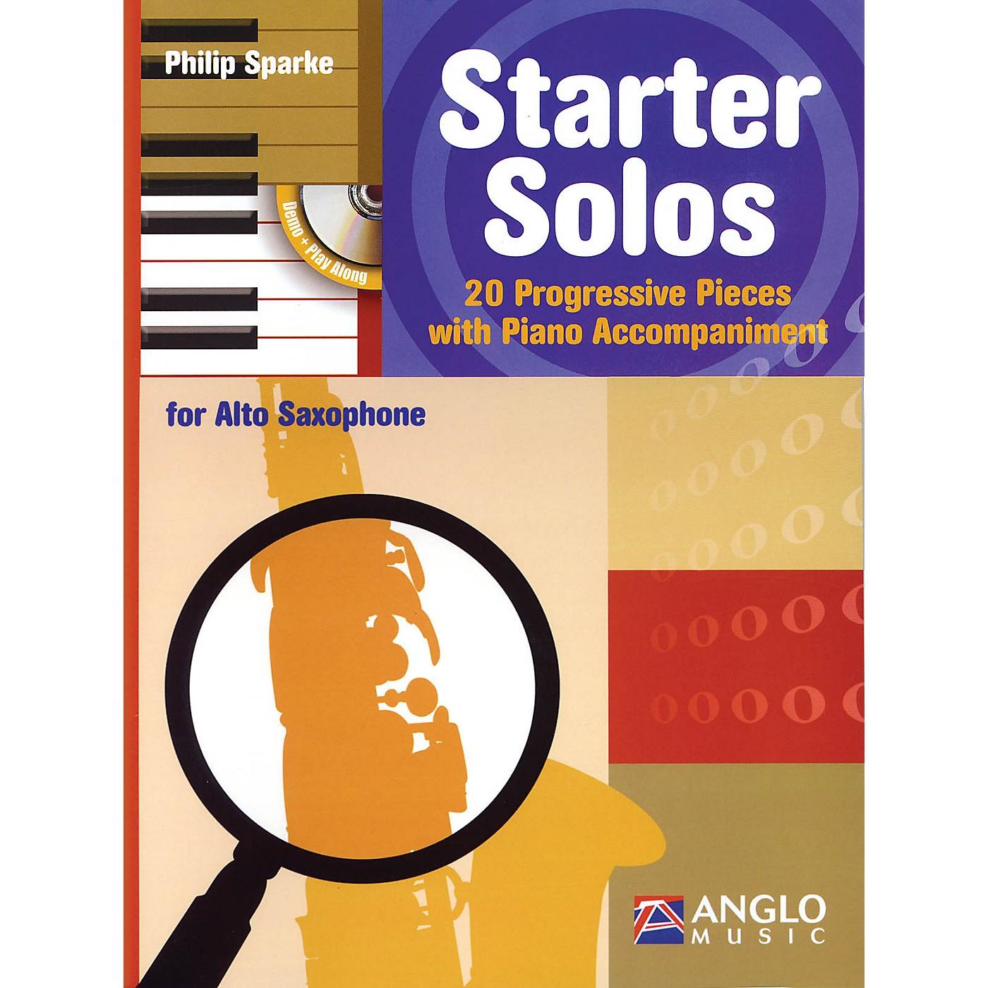 Anglo Music Starter Solos for Alto Sax Anglo Music Press Play-Along Series thumbnail