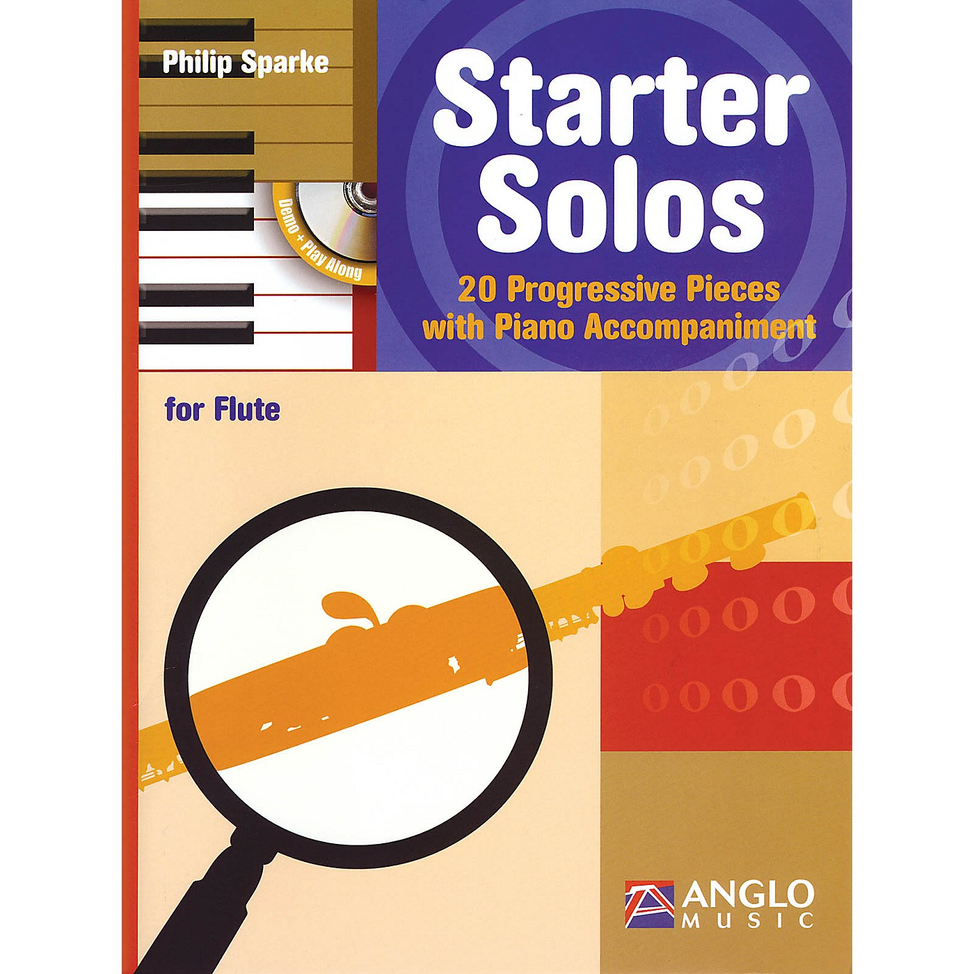 Anglo Music Starter Solos for Flute Anglo Music Press Play-Along Series Softcover with CD thumbnail