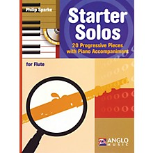 Anglo Music Starter Solos for Flute Anglo Music Press Play-Along Series Softcover with CD