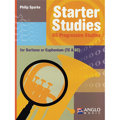 Anglo Music Starter Studies (Baritone/Euphonium) De Haske Solo Work Series Written by Philip Sparke thumbnail