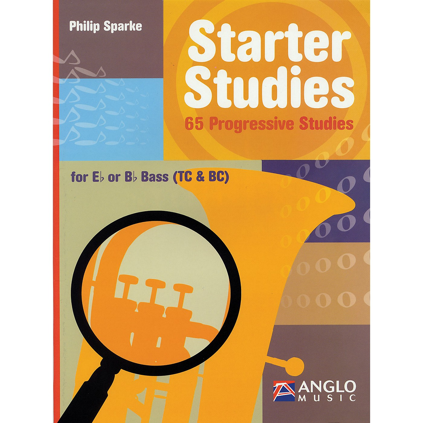 Anglo Music Starter Studies (Eb or Bb Bass) De Haske Play-Along Book Series Written by Philip Sparke thumbnail