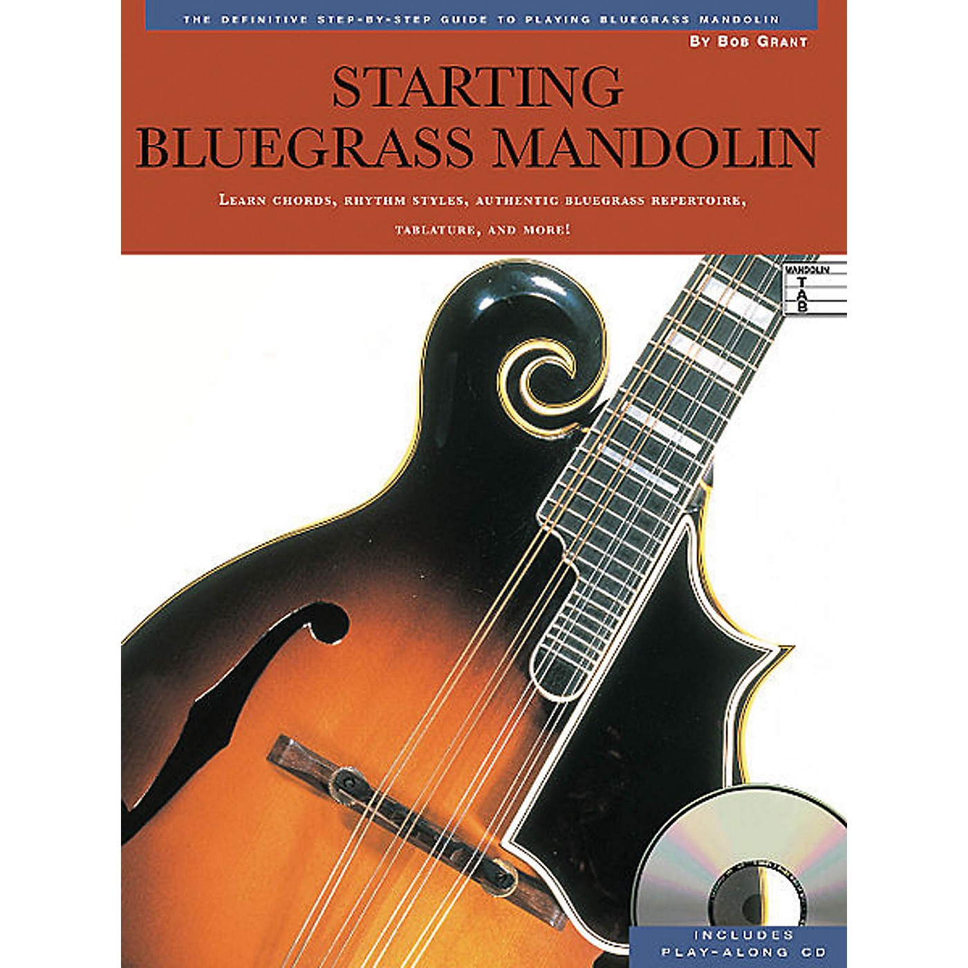 Music Sales Starting Bluegrass Mandolin Music Sales America Series Softcover with CD Written by Bob Grant thumbnail