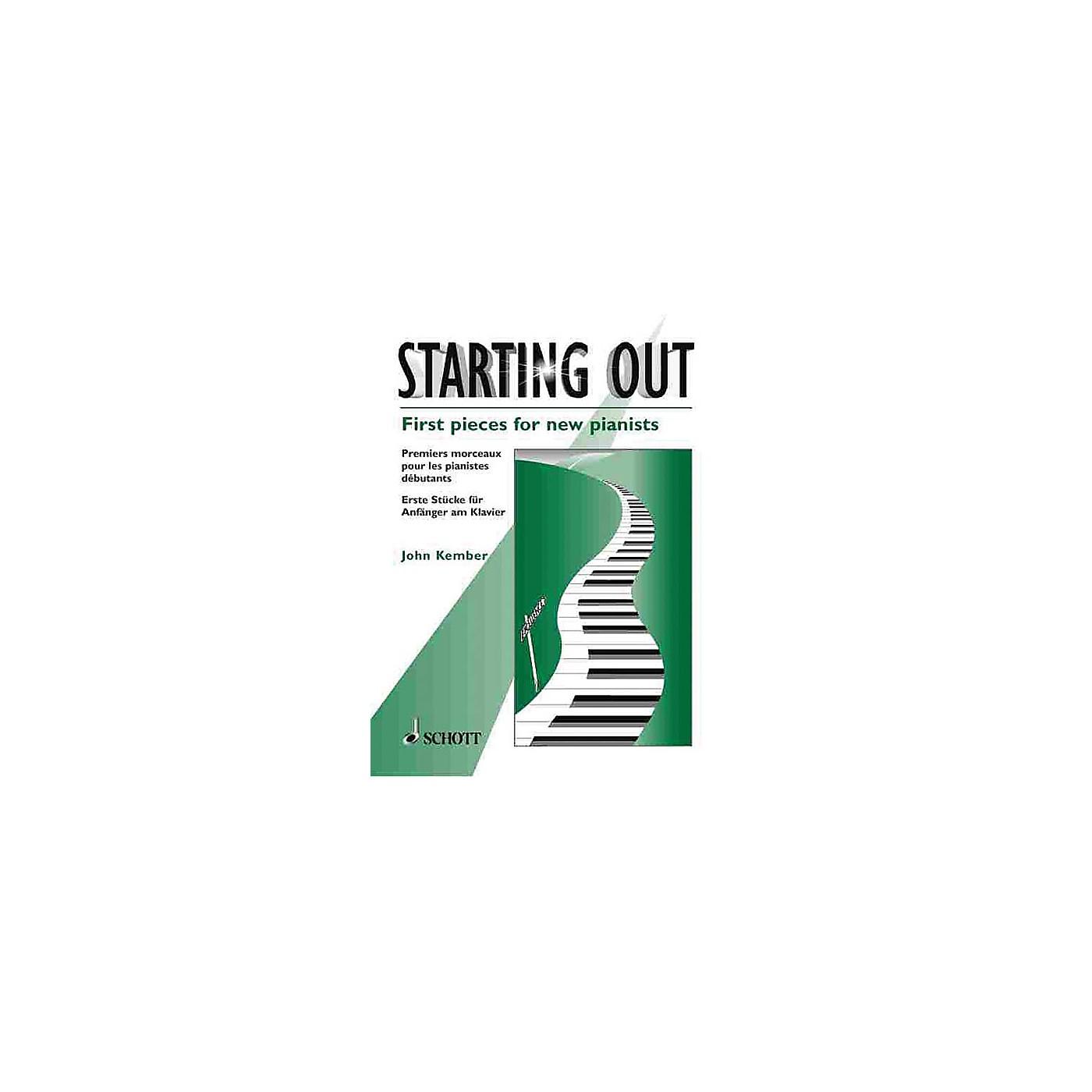 Schott Starting Out (First Pieces for New Pianists) Schott Series thumbnail