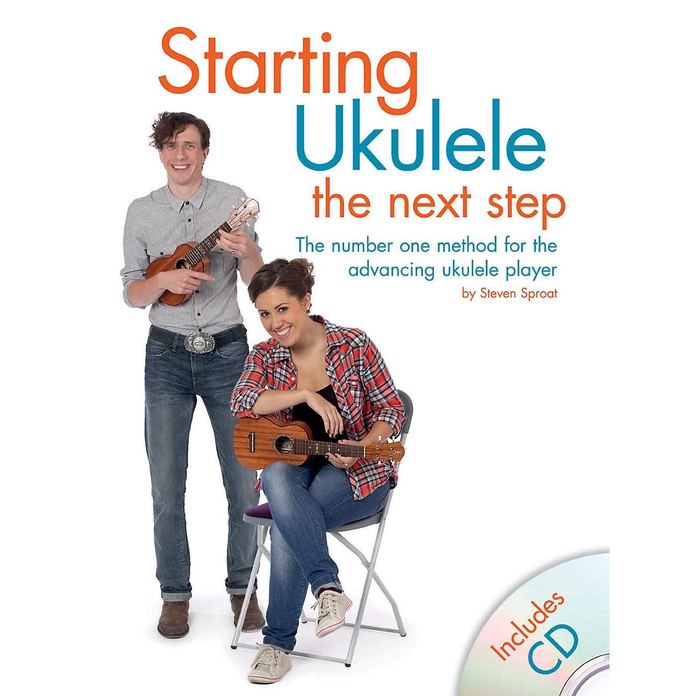 Hal Leonard Starting Ukulele - The Next Step Book/CD thumbnail