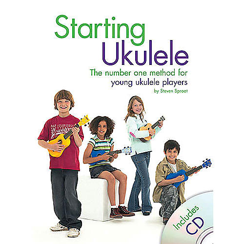 Music Sales Starting Ukulele Music Sales America Series Softcover with CD Written by Steven Sproat thumbnail