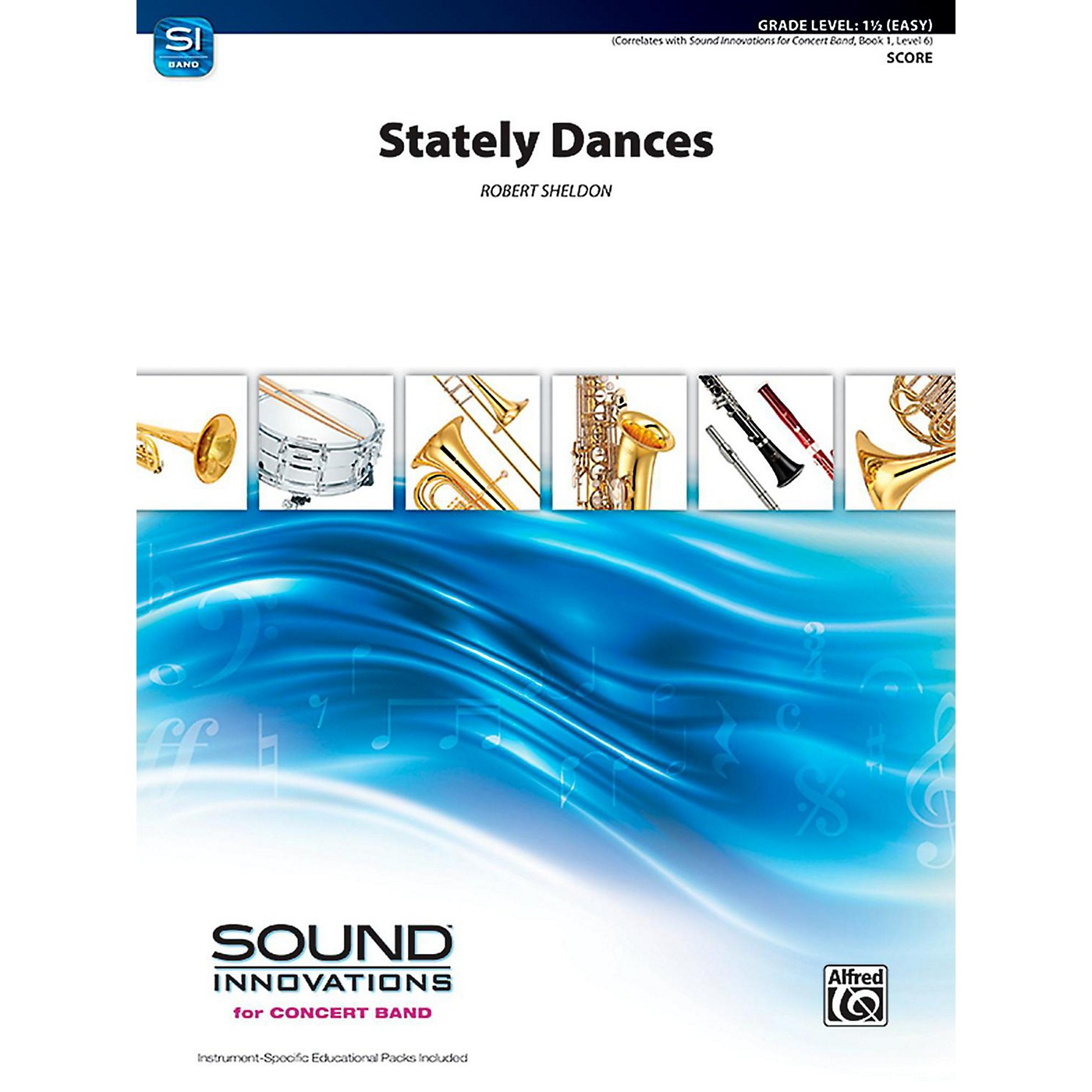 Alfred Stately Dances Concert Band Grade 1.5 (Easy) thumbnail