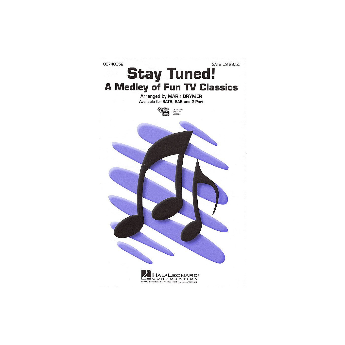 Hal Leonard Stay Tuned! (Medley) 2-Part Arranged by Mark Brymer thumbnail