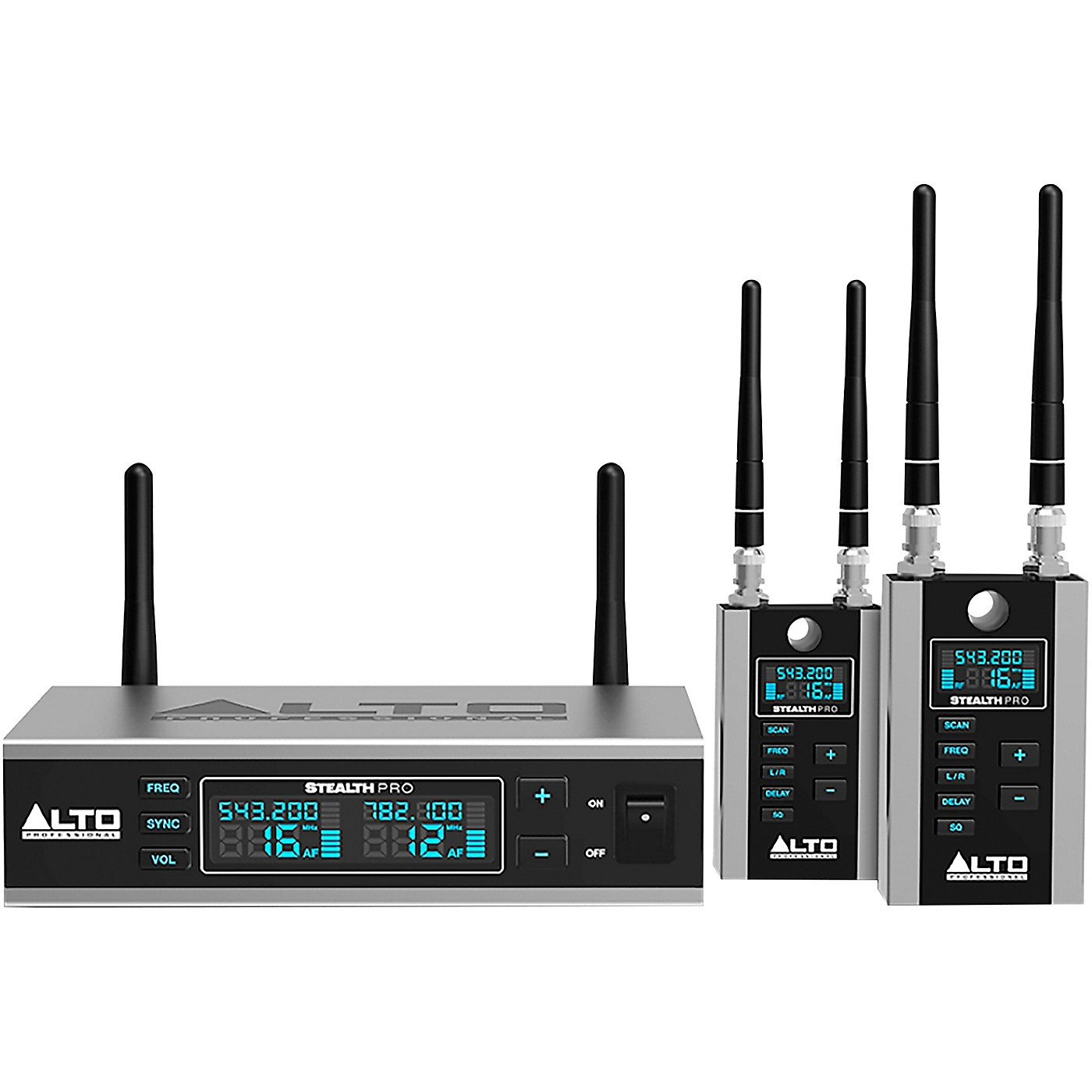 Alto Stealth Wireless Pro Stereo Wireless System for Powered Loudspeakers thumbnail