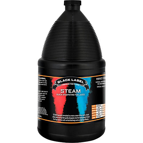 Black Label Steam Quick Dissipating Fog Juice - 1 Gallon thumbnail