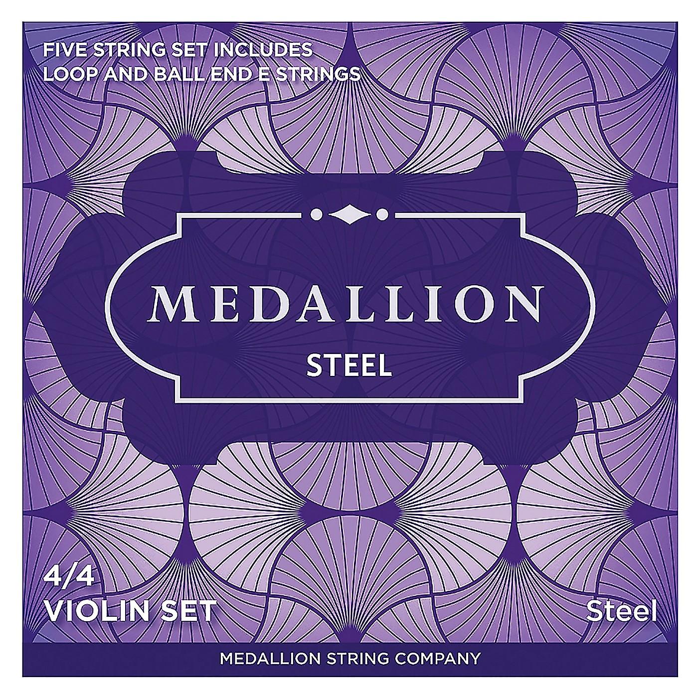 Medallion Strings Steel Violin String Set thumbnail