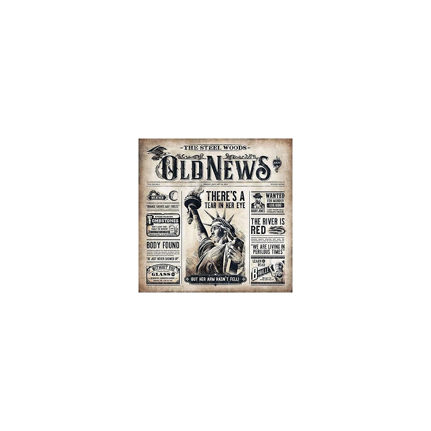 Alliance Steel Woods - Old News (CD) thumbnail