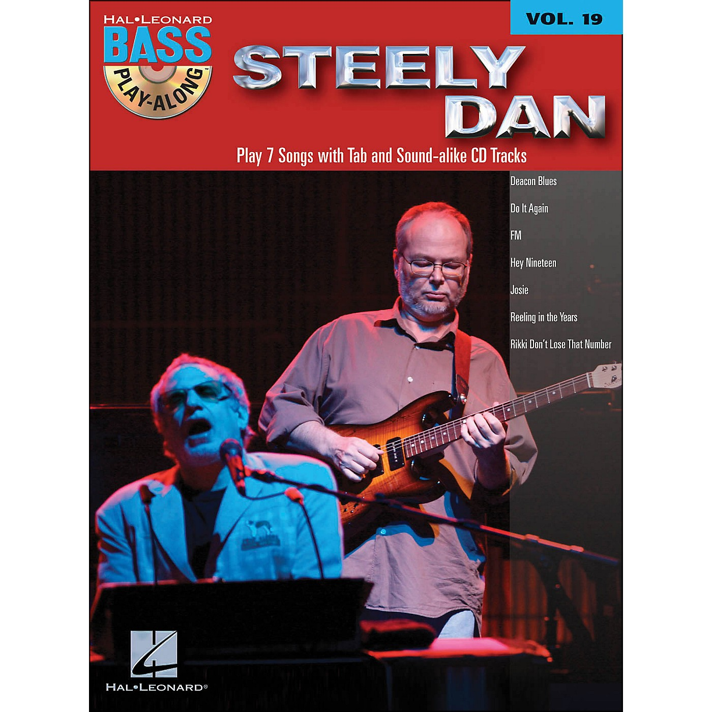 Hal Leonard Steely Dan - Bass Play-Along Volume 19 thumbnail