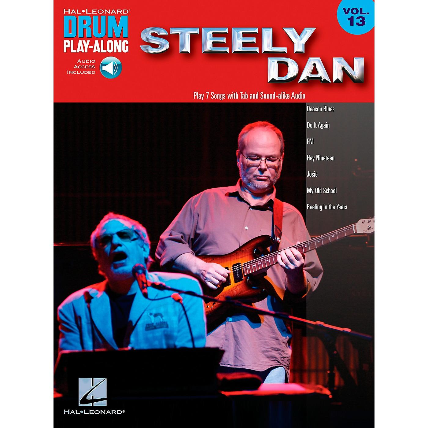 Hal Leonard Steely Dan - Drum Play-Along Volume 13 Book/CD thumbnail