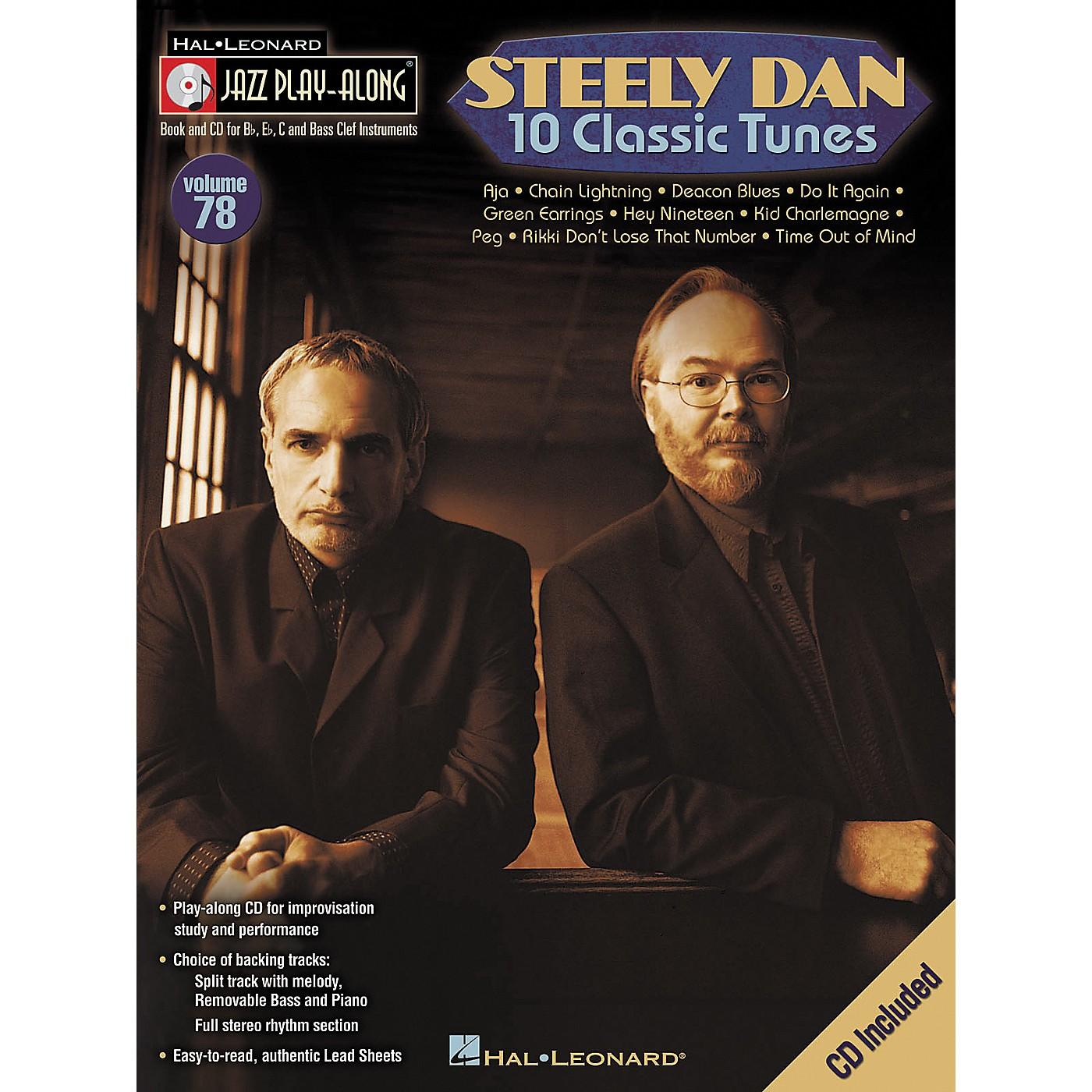 Hal Leonard Steely Dan 10 Classic Tunes - Jazz Play-Along, Volume 78 (CD/Booklet) thumbnail