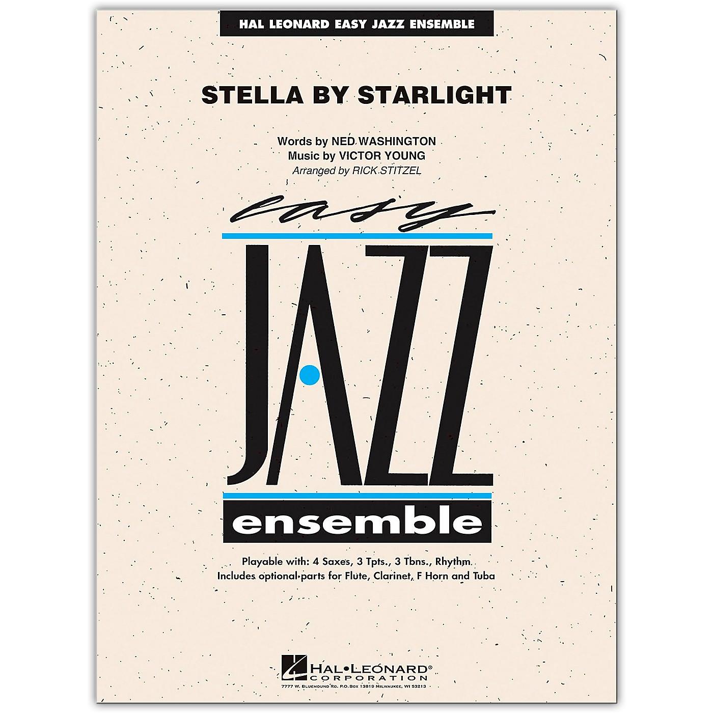 Hal Leonard Stella By Starlight - Easy Jazz Ensemble Series Level 2 Book/Online Audio thumbnail