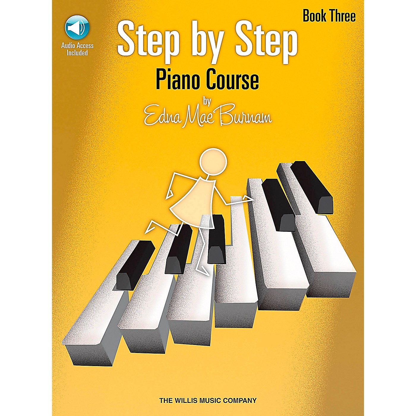 Willis Music Step By Step Piano Course Book 3 Book/CD thumbnail