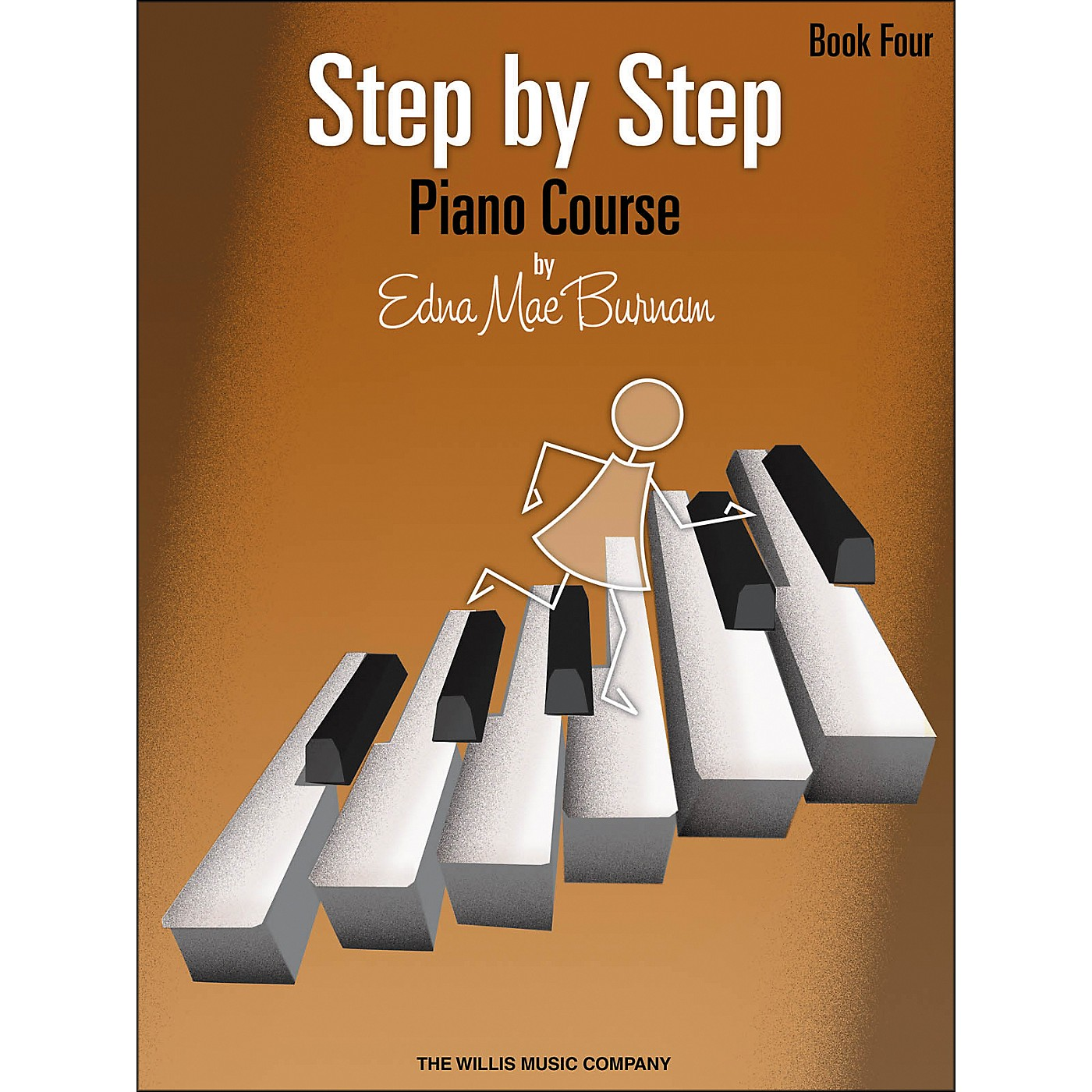Willis Music Step By Step Piano Course Book 4 thumbnail