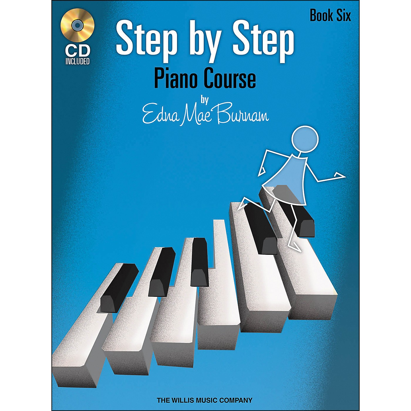 Willis Music Step By Step Piano Course Book 6 Book/CD thumbnail
